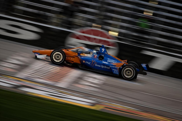 Dixon has won 3 of the last 4 races at Texas including last night - INDYCAR Media Site