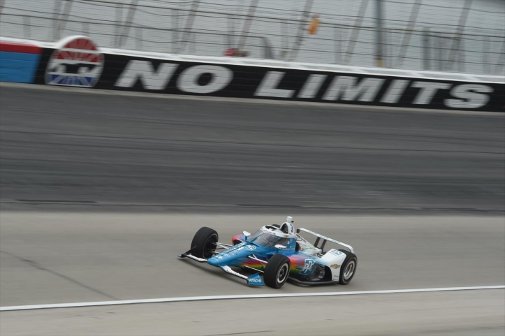 McLaughlin came home runner-up last night, to give a Penske their 3rd straight second place finish - INDYCAR Media Site