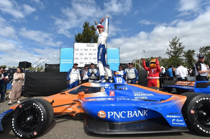 Does it serve INDYCAR good to go into the Fall? Photo Credit INDYCAR Media Site
